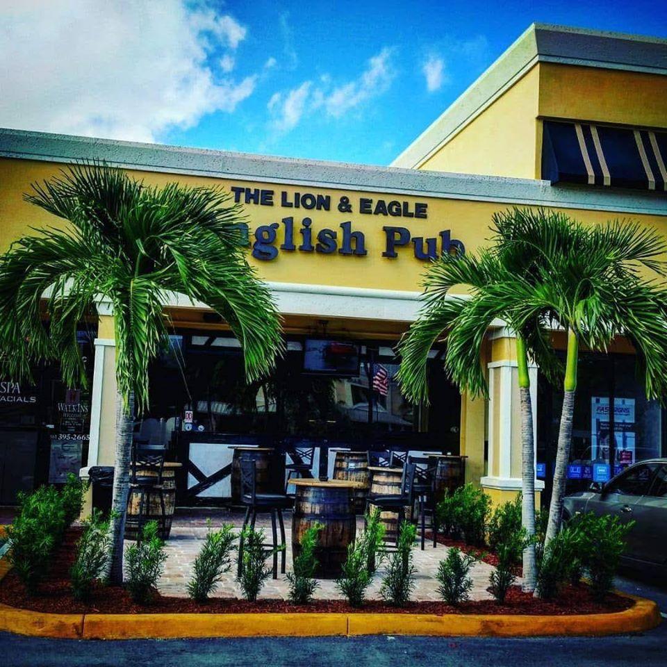 5 Great Places o Go for Superbowl Sunday: The Lion & Eagle English Pub