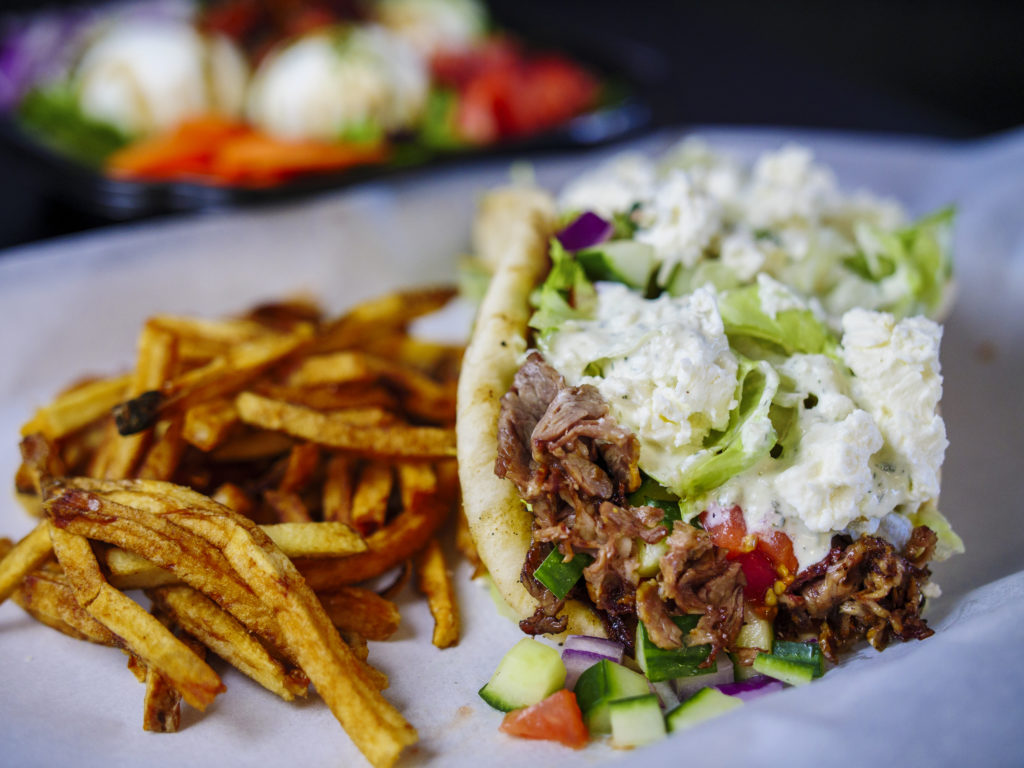 Stateside Sandwiches BEEF GYRO (WITH FREEDOM FRIES)